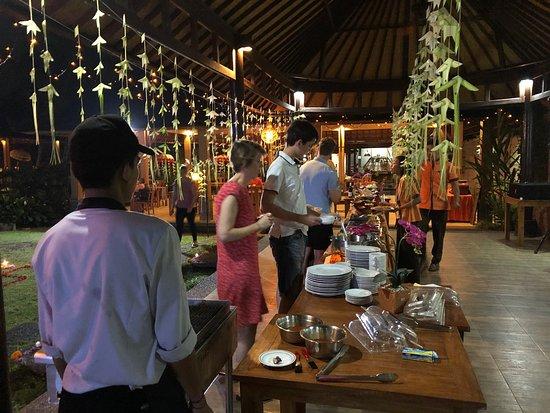 Saren Indah Restaurant: Bbq party