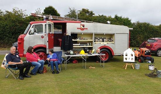 Vintage fire engine at Cayton Gala 2019