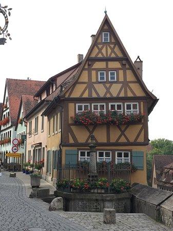 Rothenburg ob der Tauber照片