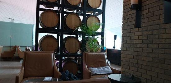 First Breakfast I had in Dubai Terminal 3