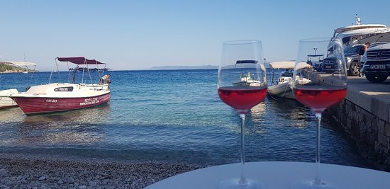 Great value wine with a view of dreams