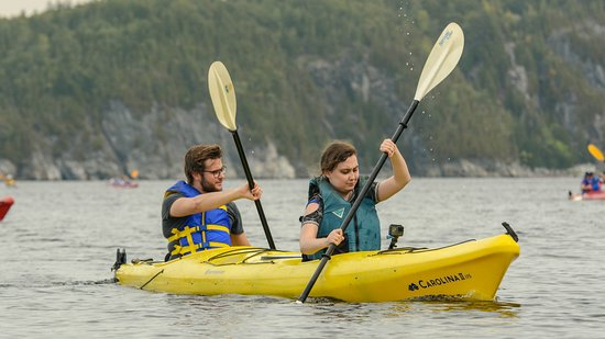 Grand Bay-Westfield, Canada: Paddles up!
