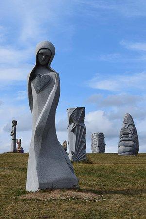 une infime partie des sculptures proposées