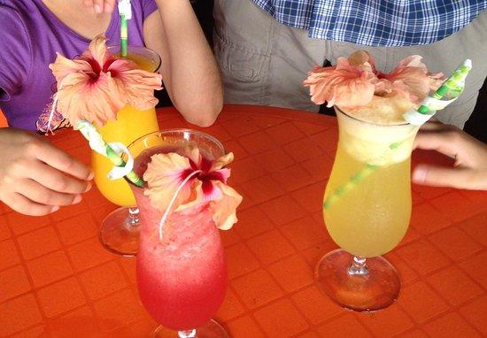 Kalaluna Bistro': Afternoon juice