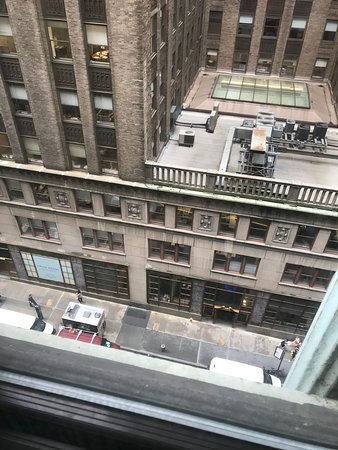 Dylan Hotel NYC: View from my 7th floor room