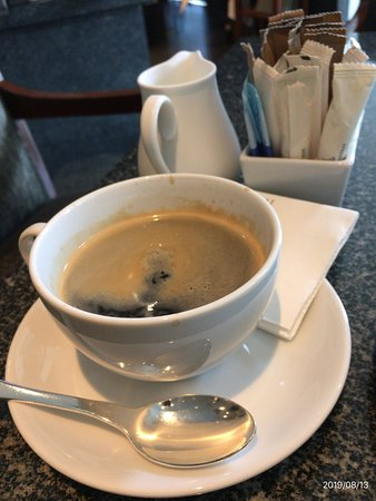 コーヒー、Thimianにて