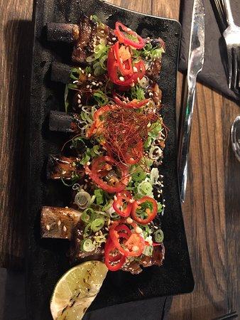 Asian food fusion