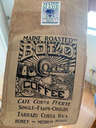 East Machias, ME: Bold Coast Coffee