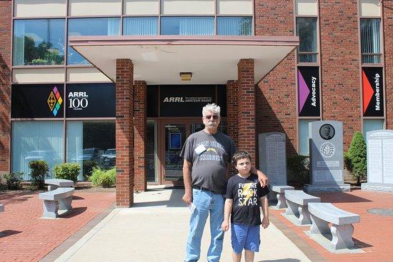Newington, CT: me and grandson