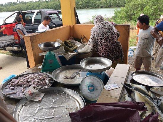 Pasar Nelayan Pulau Gajah