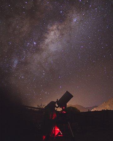 Diaguitas, ชิลี: Observación de estrellas con telescopio Amatista Travel
