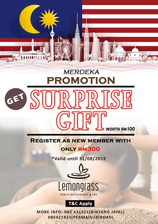 MERDEKA PROMO AVAILABLE!