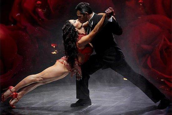 Señor Tango Show med valgfri middag i...