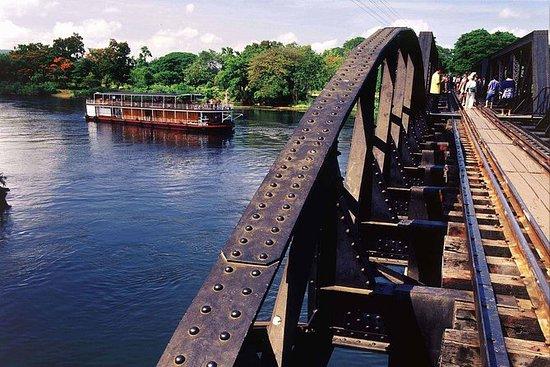 Broen på elven Kwai fra Bangkok