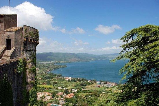 ローマからの終日旅行:ブラチアーノ湖とその周辺地域