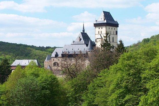 从布拉格前往Karlstejn城堡