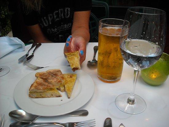 Casa Velha Restaurant: O bolo do caco