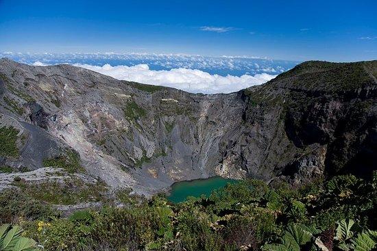 伊拉苏火山,卡塔戈市和Hacienda Orosi温泉一日游
