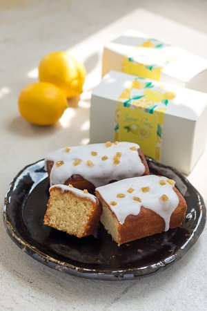 グルテンフリー veganレモンケーキ