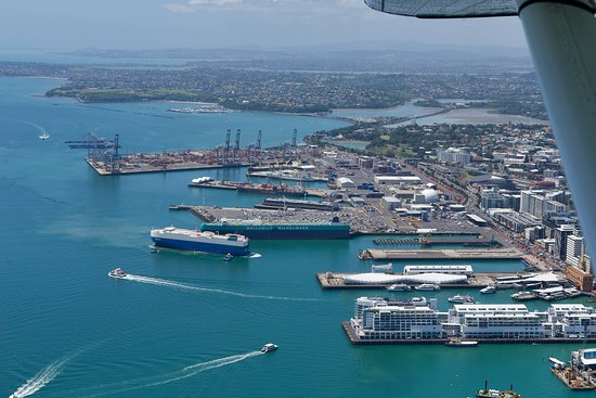 Ports of Auckland home of the America's & Lipton Cup tours Auckland City Private Tour go sailing on a real America's Cup boat ©ChauffeuredToursnz North Island New Zealand tour