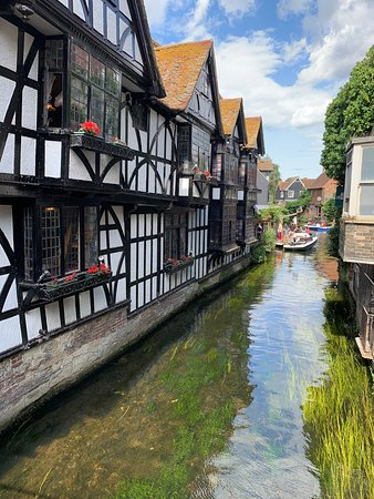 Leeds Castle, Canterbury Cathedral, Dover and Greenwich from London: Qualche scorcio di Canterbury