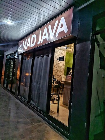 Mad Java Cafe Outside view during Night time