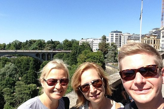 Luxembourg city tour by bicycle