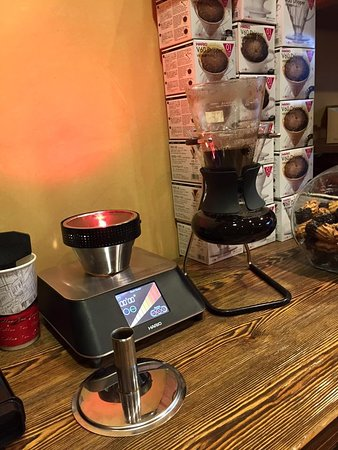 Tripoli, Grecia: Coffee Syphon, filter coffee