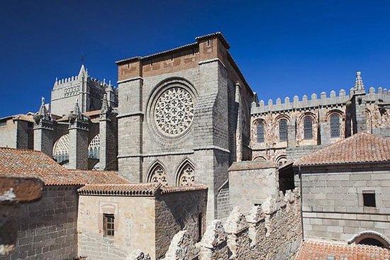 西班牙马德里阿维拉与墙壁和塞戈维亚一日游