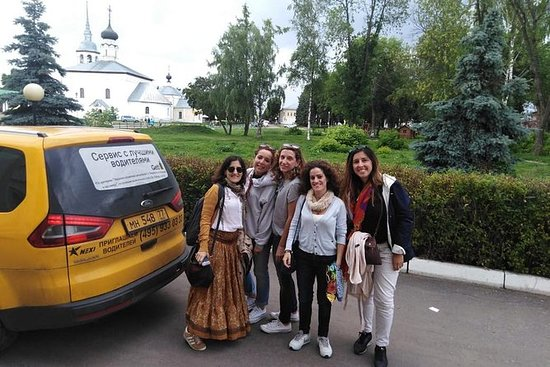 Day drive from Moscow to Golden Ring...