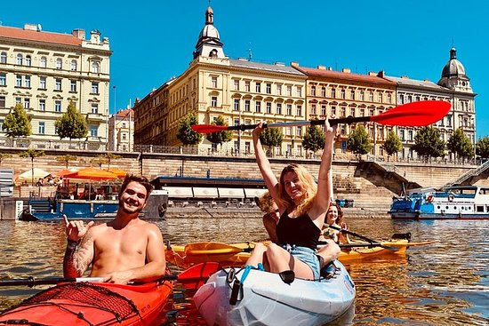 ‪‪Kayaking tour in the city center‬: Kayaking tour in the city center‬