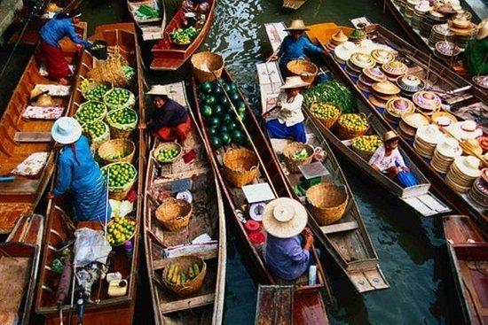 曼谷:私人游览半天Damnoen Saduak水上市场