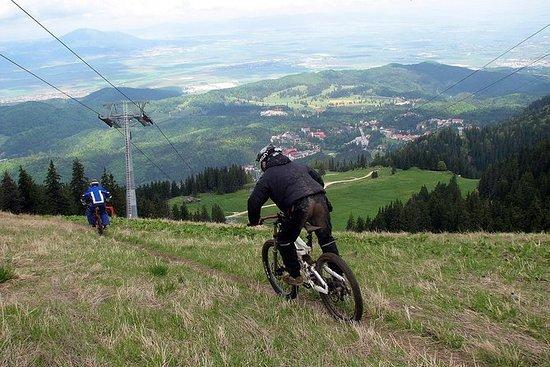Evening Bike Ride Around Brasov