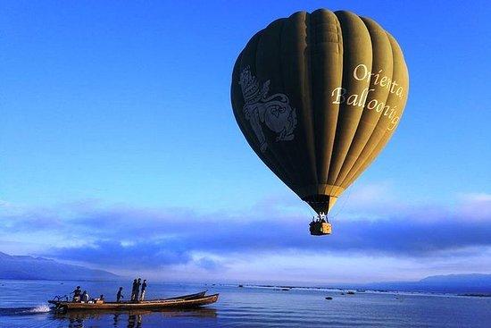 Experiência do balão de ar quente do...