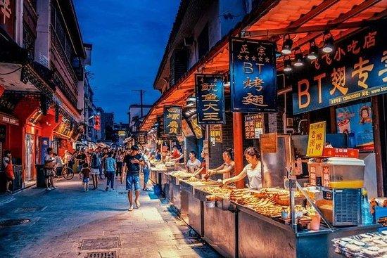 半天私人游览黄鹤楼和武汉夜市小吃