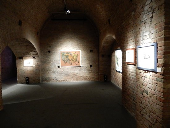 More of the exhibition space