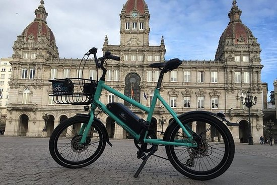 通过Electric Bicycle探索Coruña