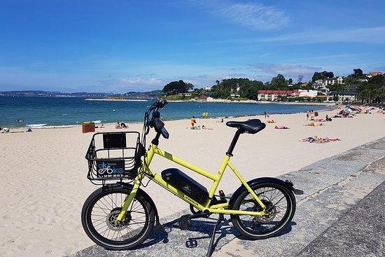 电动自行车(海滩)的Coruña到Oleiros