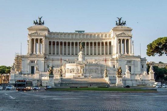 市内の宿泊施設でのピックアップ付きローマプライベートツアー
