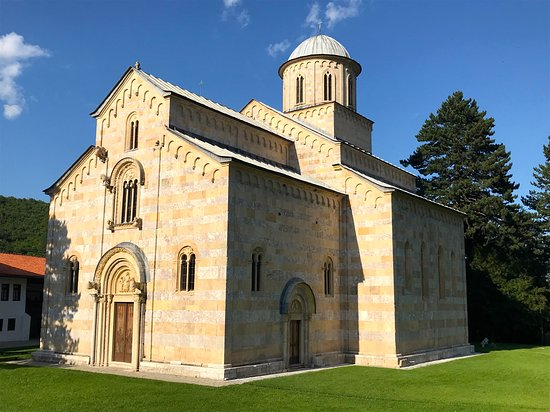 Decan, كوسوفو: Monastero di Visoki Decani