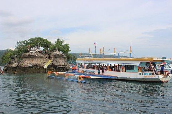 Island Hopping i Samal Island med lunsjbuffé