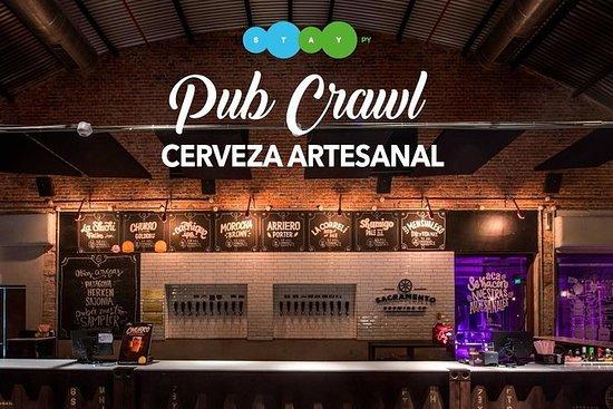 Craft Beer Pubcrawl i Asunción
