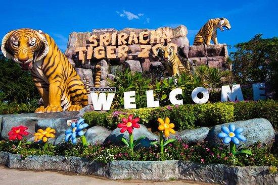 パタヤ入場券のシラチャタイガー動物園