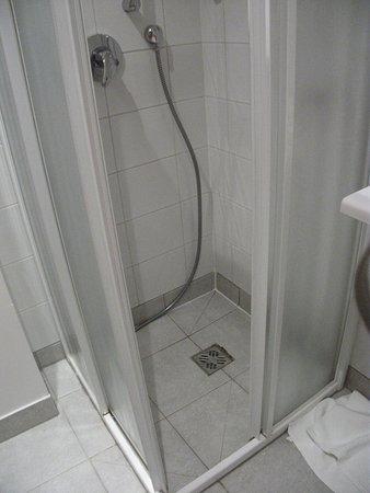 La ducha está impresentable