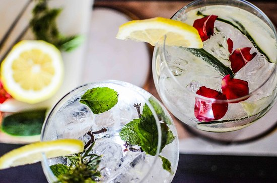 Our favourite summertime drink, our G&T with @hendricksgin and @fevertreemixers are special and absolutely delicious.