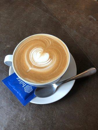 Lekkere koffie, een beetje achteraf