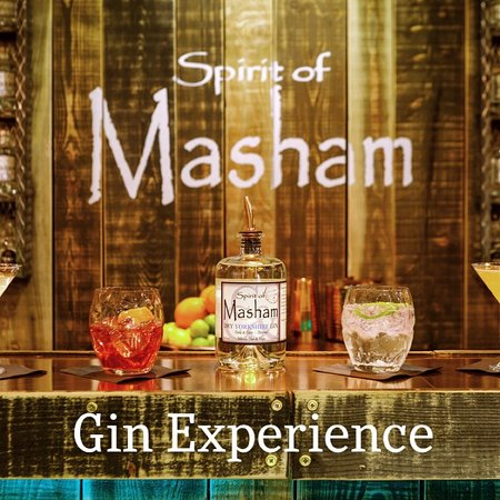 Машам, UK: Spirit of Masham Gin Experience