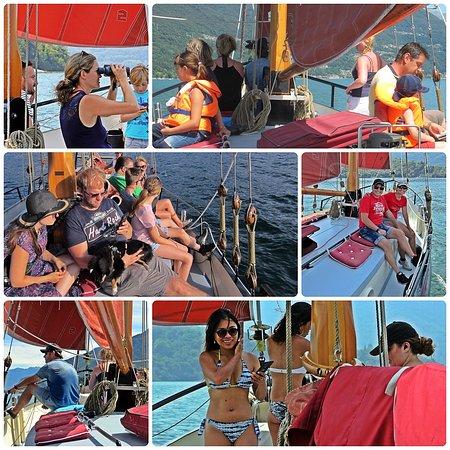 La Vela Rossa: Schnappschüsse unserer Gäste-Törns