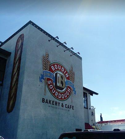 Boudin Bakery in Fisherman's Wharf