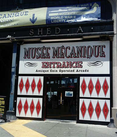 Musee Mecanique, old school, famous arcade!